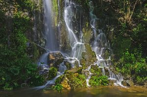 Waterfall at Spring van