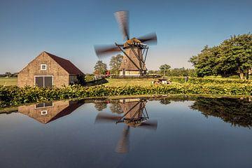 Windmolen De Hersteller in Sint Johannesga in Friesland van Harrie Muis