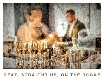 Barman, bar, gast van Kahl Design Manufaktur