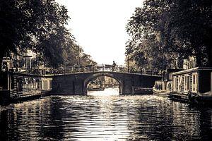Tocht over de Amsterdamse Grachten van Wesley Flaman