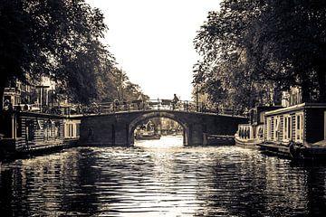 Tocht over de Amsterdamse Grachten sur Wesley Flaman