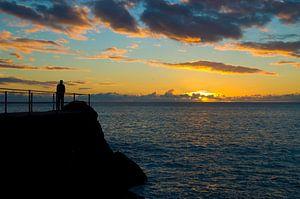 Zonsondergang - Madeira Portugal van