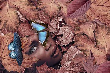 The blue butterfly sur Elianne van Turennout