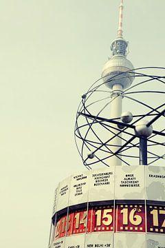 Berliner Fernsehturm und Weltzeituhr von Falko Follert