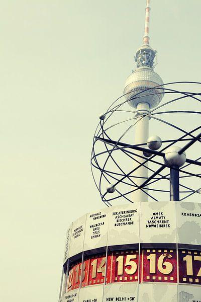 Berlin Toren van TV Clock van Falko Follert