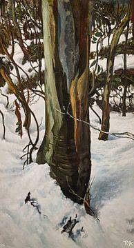 Winterlandschaft z03 von KB Prints