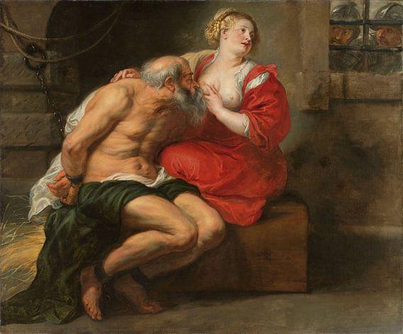 Cimon en Pero, Peter Paul Rubens van Meesterlijcke Meesters