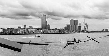 Zicht op Rotterdam-Zuid von Peter Hooijmeijer