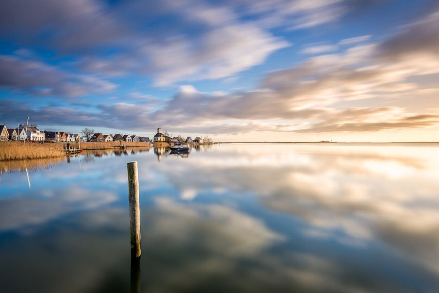 Durgerdam aan het IJmeer van Frederik van der Veer