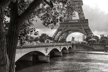De Eiffeltoren aan de Seine van Emajeur Fotografie