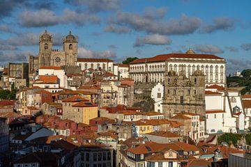 Oude binnenstad Porto van Peter Schickert