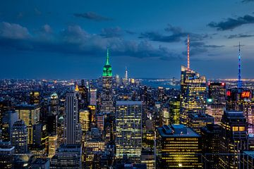 New York   Blaue Stunde von Kurt Krause