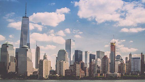 Lower Manhattan van Thea Sijtsma
