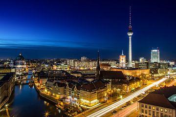 Berliner Nacht von Salke Hartung