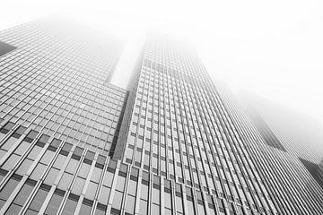 Misty Rotterdam von Camiel Mudde