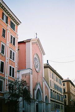 Les couleurs pastel à Rome sur Raisa Zwart
