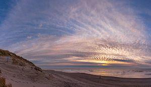Texel Paal 9 Sonnenuntergang Sonnenuntergang xxl von Texel360Fotografie Richard Heerschap