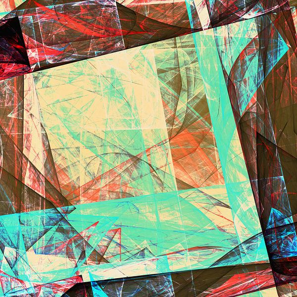 Composition Abstraite 455 van Angel Estevez