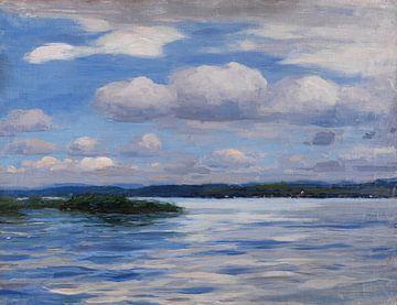 See mit Wetterwolken, ALEXANDER KOESTER, Um 1909-1914 von Atelier Liesjes