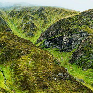 Landschap van de berg van Fernand Reiter