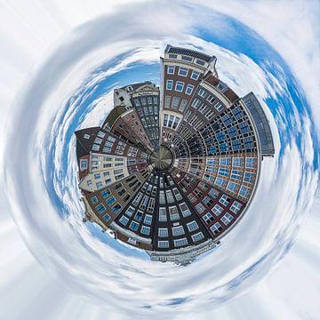 Amsterdam, planeet compositie van Rietje Bulthuis