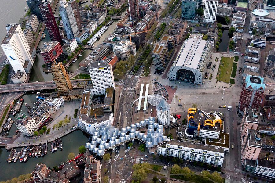 De iconen van Rotterdam van Roy Poots