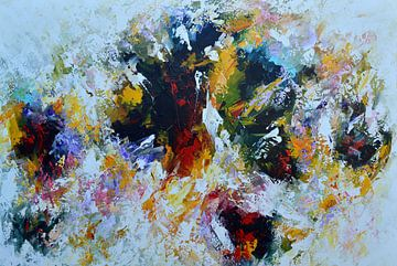 Colorful abstract van Gena Theheartofart