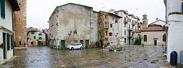 Piazza Duca D'Aosta in Grado van Leopold Brix