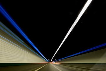 Tunnel van view photo