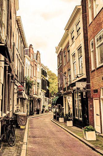 Binnenstad van Den Haag Nederland