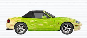 Mazda MX-5 Green-Chamoise editie van aRi F. Huber