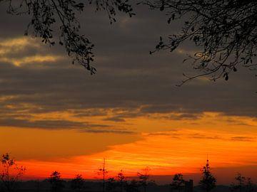 Zonsondergang van Astrid Koopmans
