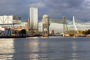 Skyline von Rotterdam Süd von Peter de Kievith Fotografie