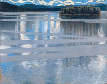 Lac Keitele, Akseli Gallen-Kallela