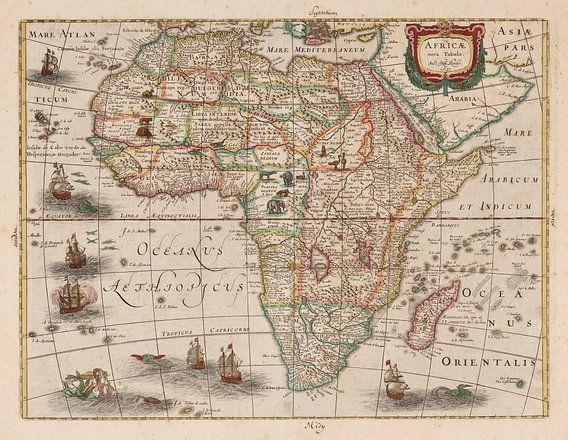 Kaart van Afrika