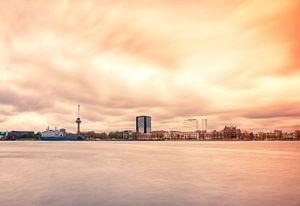 Rotterdam skyline met euromast