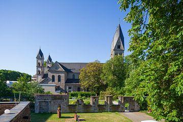 Basilika St. Kastor, Koblenz, Rheinland-Pfalz, Deutschland, Europa