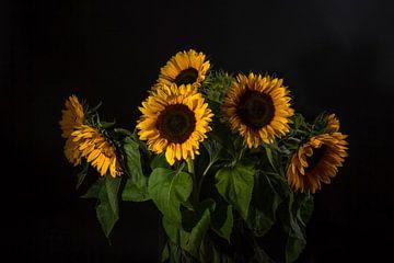 Zonnebloemen 2 von Joke Beers-Blom