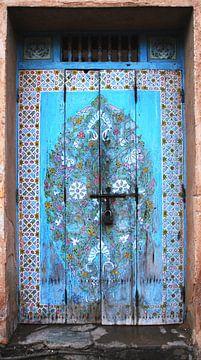 Tür in Marokko von Homemade Photos
