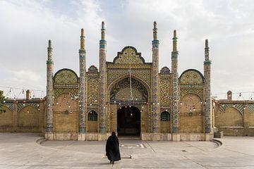 Femme iranienne à Qazvin, Iran sur Fernando Duarte Nogueira