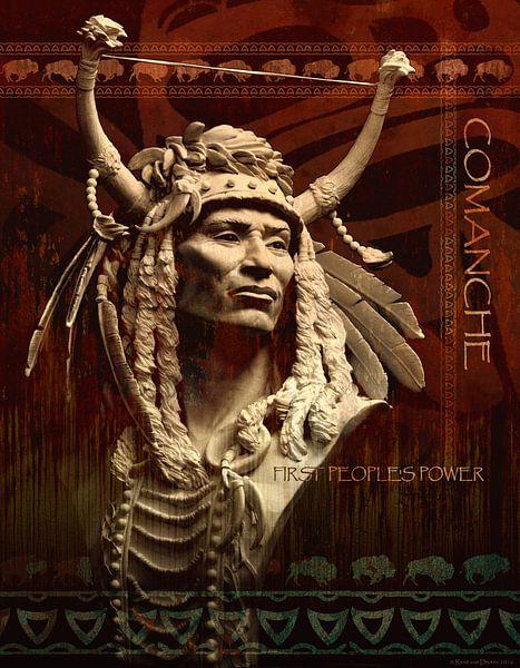 Comanche Firts People's Power van Waterside Studio