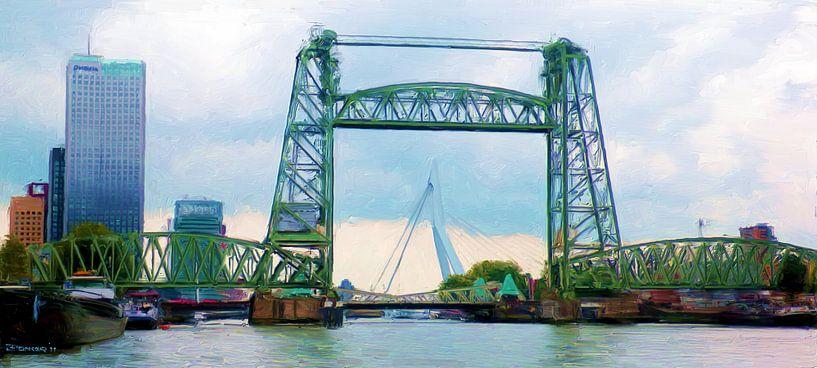 Drie bruggen van Frans Jonker