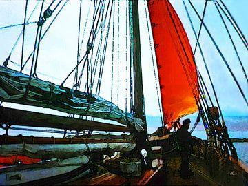 De boot van Dirk H. Wendt