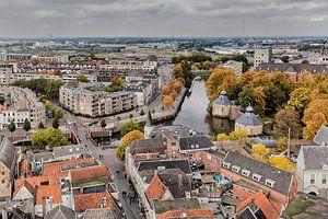 Zicht op Breda van