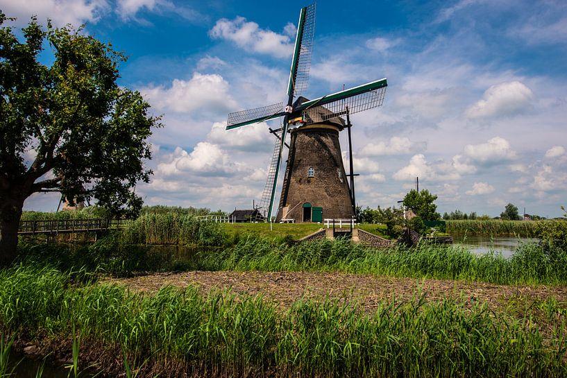 Windmills Holland van Brian Morgan