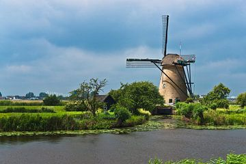 Windmühlen von Kinderdijk, Niederlande von Gunter Kirsch