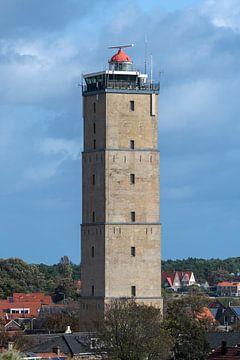 Der historische Leuchtturm Brandaris auf der Watteninsel Terschelling im Norden der Niederlande. Er  von Tonko Oosterink