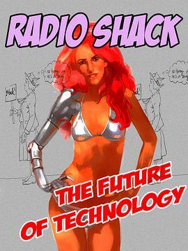 Radio Shack van Suwan Knol