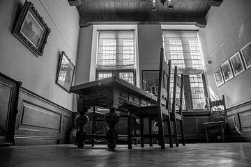 burgemeesters-kamer in perspectief van Sjaak van Etten
