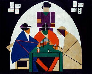 Kartenspieler, Theo van Doesburg